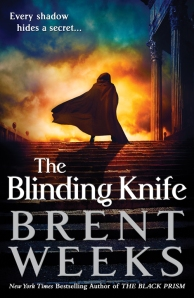 Cover for The Blinding Knife