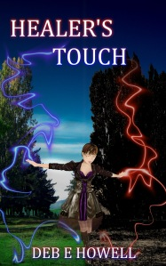 A play-time cover design idea for Healer's Touch