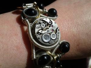 Catherinette Rings - Funky Watch-Style Bracelet